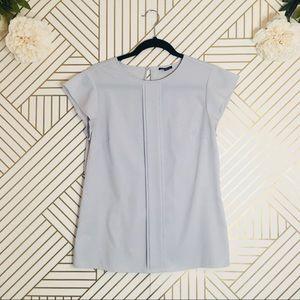 Ann Taylor | Career Style Cap Sleeve Blouse